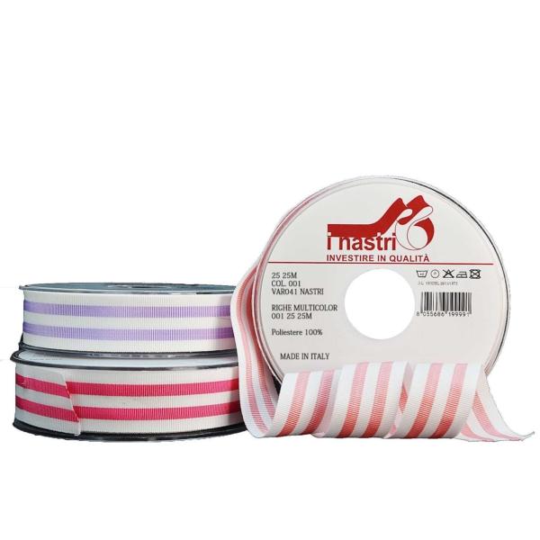 Разноцветная полосатая лента