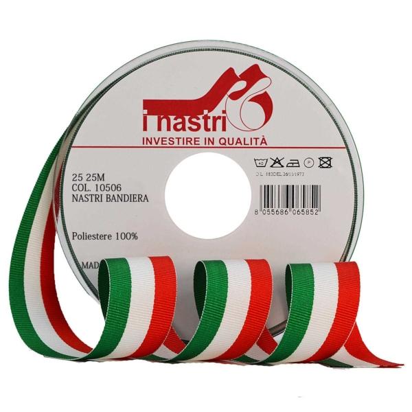 Cinta de la bandera italiana
